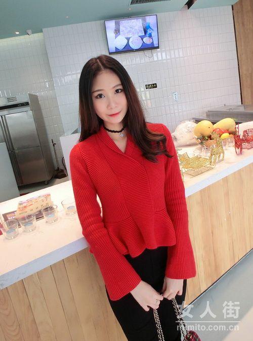 春节潮妞穿搭示范 红色服饰搭配专题